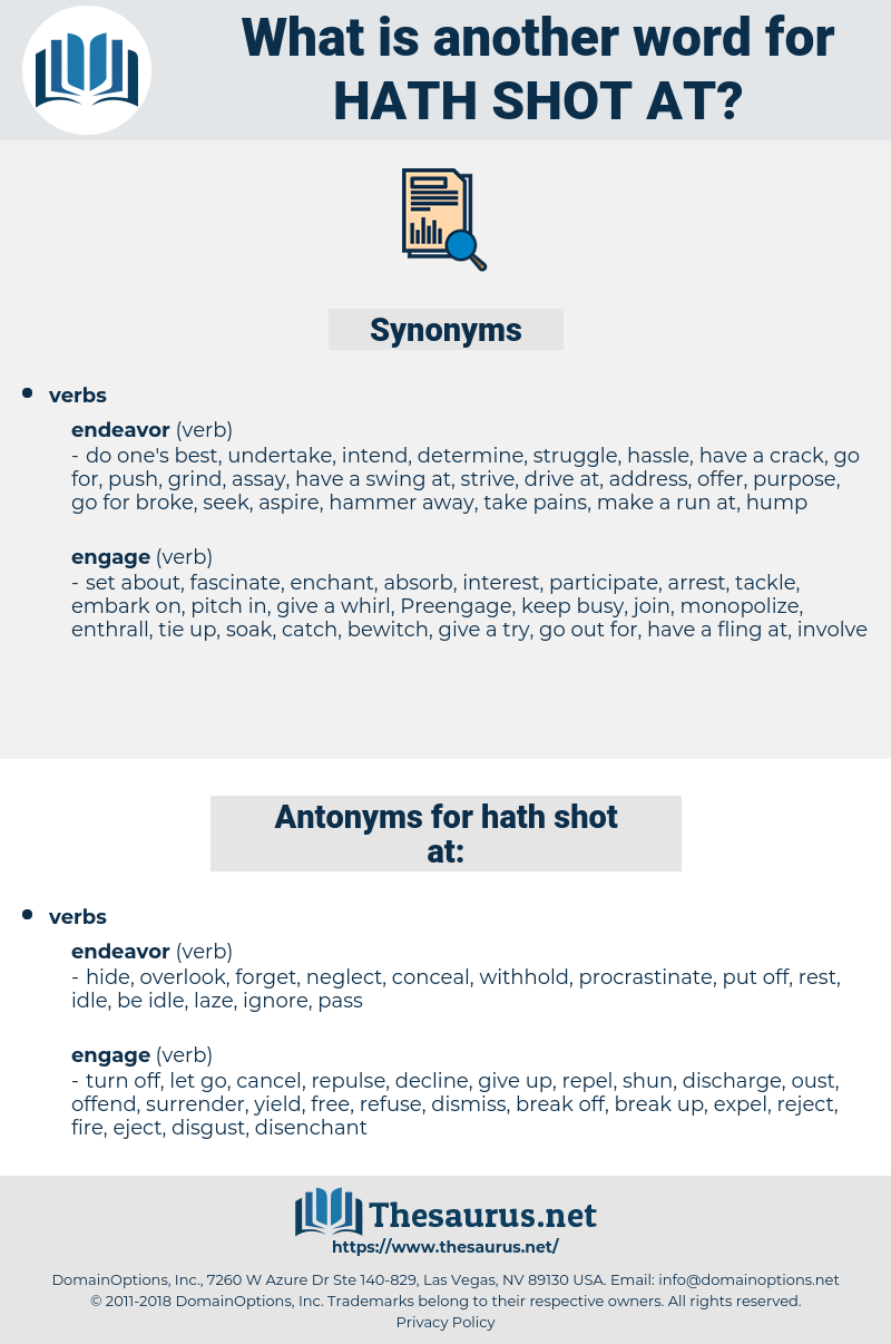 hath shot at, synonym hath shot at, another word for hath shot at, words like hath shot at, thesaurus hath shot at
