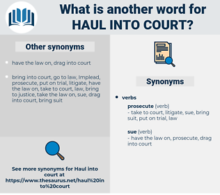 haul into court, synonym haul into court, another word for haul into court, words like haul into court, thesaurus haul into court