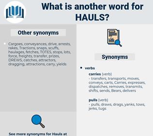 Hauls, synonym Hauls, another word for Hauls, words like Hauls, thesaurus Hauls