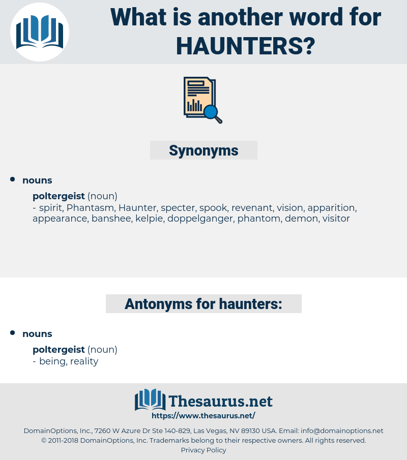 haunters, synonym haunters, another word for haunters, words like haunters, thesaurus haunters