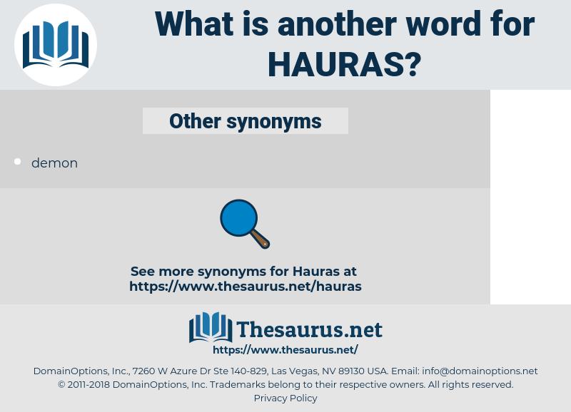 hauras, synonym hauras, another word for hauras, words like hauras, thesaurus hauras