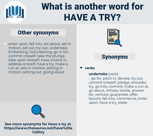 have a try, synonym have a try, another word for have a try, words like have a try, thesaurus have a try