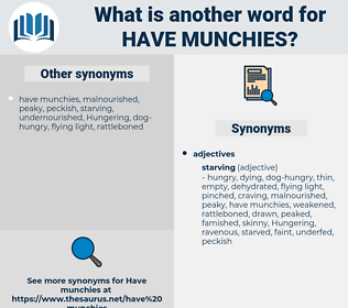 have munchies, synonym have munchies, another word for have munchies, words like have munchies, thesaurus have munchies