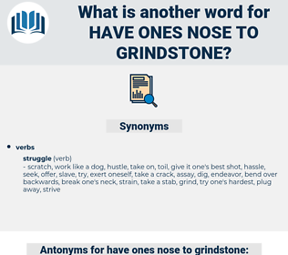 have ones nose to grindstone, synonym have ones nose to grindstone, another word for have ones nose to grindstone, words like have ones nose to grindstone, thesaurus have ones nose to grindstone