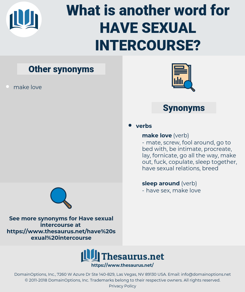 have sexual intercourse, synonym have sexual intercourse, another word for have sexual intercourse, words like have sexual intercourse, thesaurus have sexual intercourse