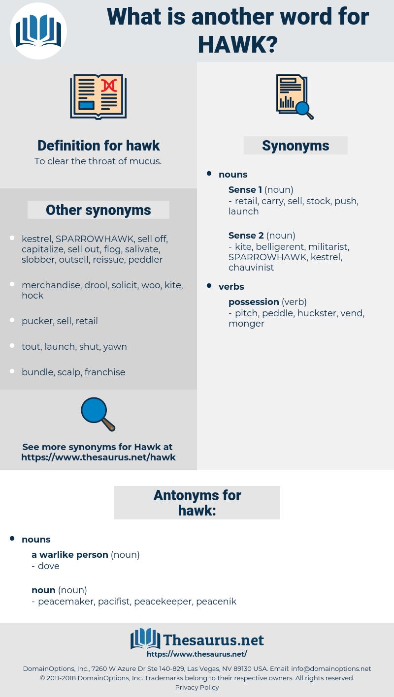 hawk, synonym hawk, another word for hawk, words like hawk, thesaurus hawk