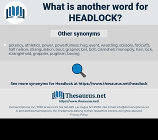 headlock, synonym headlock, another word for headlock, words like headlock, thesaurus headlock
