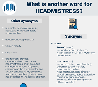 headmistress, synonym headmistress, another word for headmistress, words like headmistress, thesaurus headmistress
