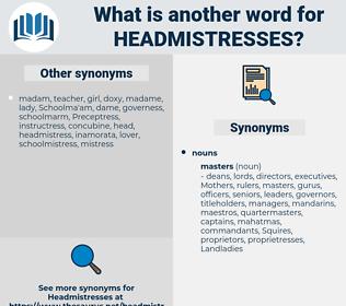 headmistresses, synonym headmistresses, another word for headmistresses, words like headmistresses, thesaurus headmistresses