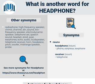 headphone, synonym headphone, another word for headphone, words like headphone, thesaurus headphone