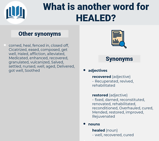healed, synonym healed, another word for healed, words like healed, thesaurus healed