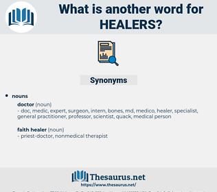 healers, synonym healers, another word for healers, words like healers, thesaurus healers