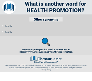 Health Promotion, synonym Health Promotion, another word for Health Promotion, words like Health Promotion, thesaurus Health Promotion