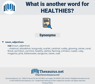 healthies, synonym healthies, another word for healthies, words like healthies, thesaurus healthies