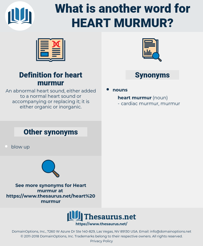 heart murmur, synonym heart murmur, another word for heart murmur, words like heart murmur, thesaurus heart murmur