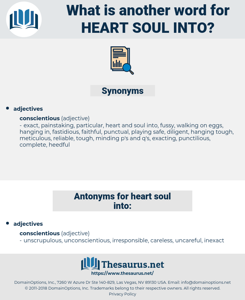 heart soul into, synonym heart soul into, another word for heart soul into, words like heart soul into, thesaurus heart soul into