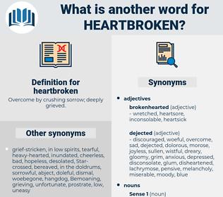 heartbroken, synonym heartbroken, another word for heartbroken, words like heartbroken, thesaurus heartbroken