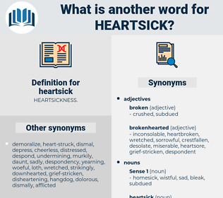 heartsick, synonym heartsick, another word for heartsick, words like heartsick, thesaurus heartsick