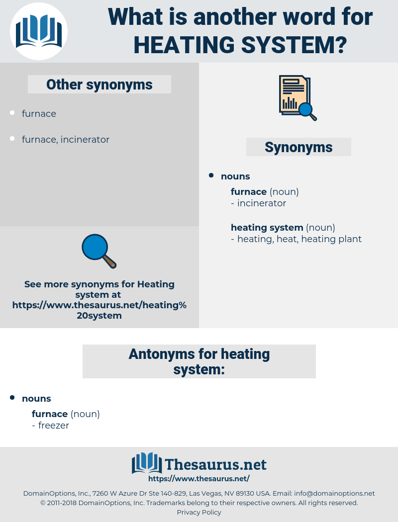 heating system, synonym heating system, another word for heating system, words like heating system, thesaurus heating system