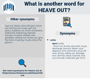 heave out, synonym heave out, another word for heave out, words like heave out, thesaurus heave out