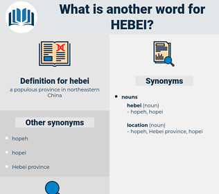 hebei, synonym hebei, another word for hebei, words like hebei, thesaurus hebei