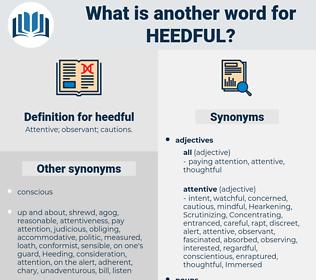 heedful, synonym heedful, another word for heedful, words like heedful, thesaurus heedful
