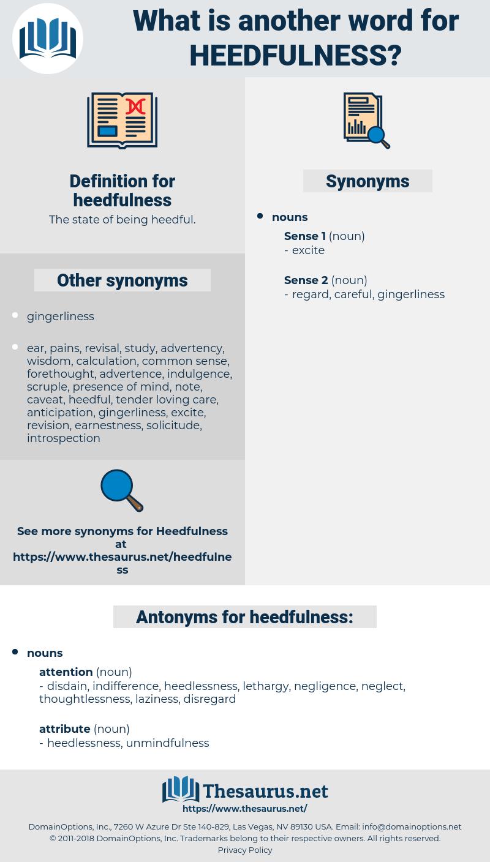 heedfulness, synonym heedfulness, another word for heedfulness, words like heedfulness, thesaurus heedfulness
