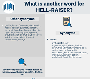 hell-raiser, synonym hell-raiser, another word for hell-raiser, words like hell-raiser, thesaurus hell-raiser