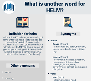 helm, synonym helm, another word for helm, words like helm, thesaurus helm