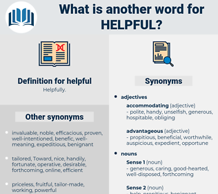 helpful, synonym helpful, another word for helpful, words like helpful, thesaurus helpful