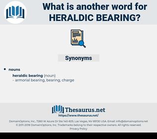 heraldic bearing, synonym heraldic bearing, another word for heraldic bearing, words like heraldic bearing, thesaurus heraldic bearing