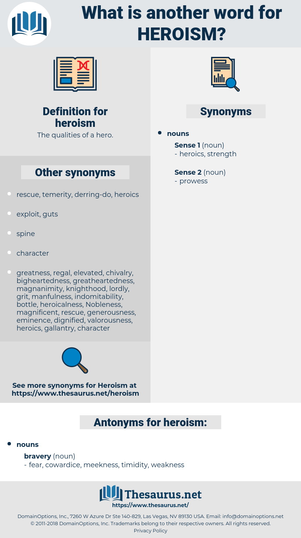 heroism, synonym heroism, another word for heroism, words like heroism, thesaurus heroism