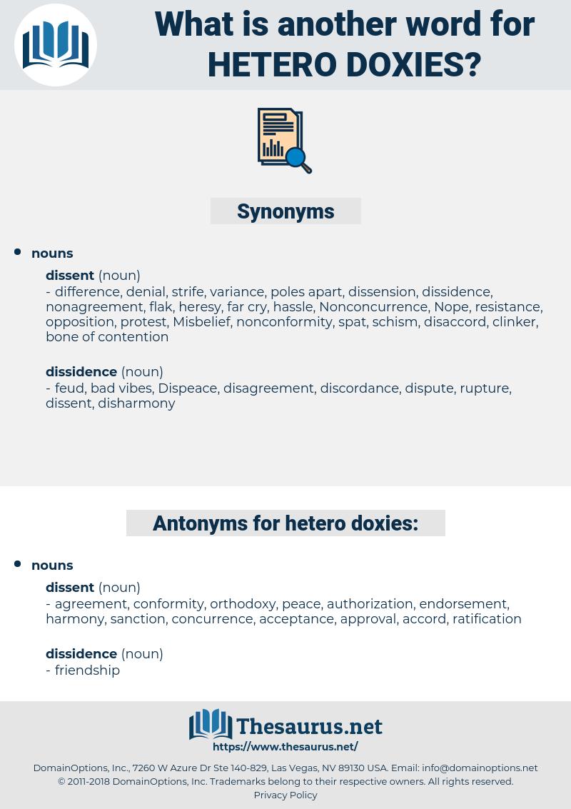hetero-doxies, synonym hetero-doxies, another word for hetero-doxies, words like hetero-doxies, thesaurus hetero-doxies