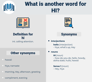 hi, synonym hi, another word for hi, words like hi, thesaurus hi