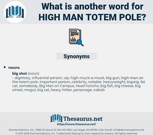 high man totem pole, synonym high man totem pole, another word for high man totem pole, words like high man totem pole, thesaurus high man totem pole