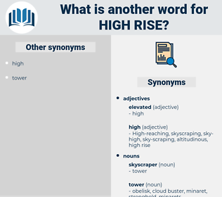 high-rise, synonym high-rise, another word for high-rise, words like high-rise, thesaurus high-rise