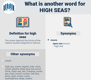 high seas, synonym high seas, another word for high seas, words like high seas, thesaurus high seas