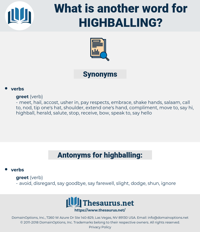 highballing, synonym highballing, another word for highballing, words like highballing, thesaurus highballing