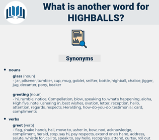 highballs, synonym highballs, another word for highballs, words like highballs, thesaurus highballs