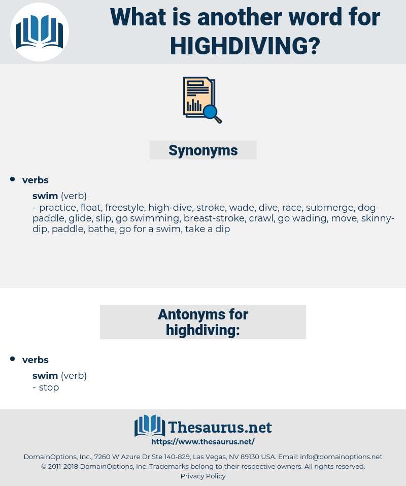 highdiving, synonym highdiving, another word for highdiving, words like highdiving, thesaurus highdiving