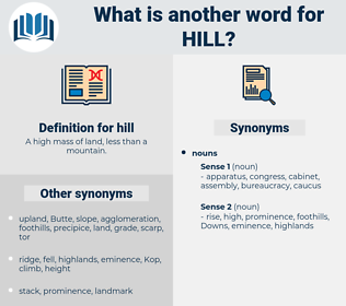 hill, synonym hill, another word for hill, words like hill, thesaurus hill