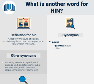 hin, synonym hin, another word for hin, words like hin, thesaurus hin