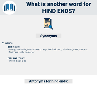 hind ends, synonym hind ends, another word for hind ends, words like hind ends, thesaurus hind ends