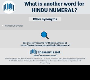 Hindu numeral, synonym Hindu numeral, another word for Hindu numeral, words like Hindu numeral, thesaurus Hindu numeral