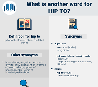 hip to, synonym hip to, another word for hip to, words like hip to, thesaurus hip to