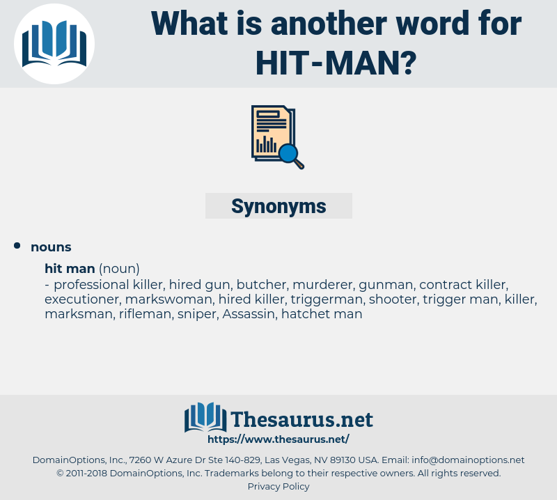 hit man, synonym hit man, another word for hit man, words like hit man, thesaurus hit man