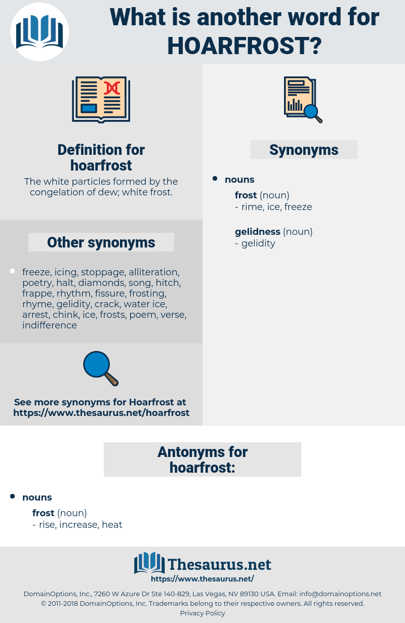 hoarfrost, synonym hoarfrost, another word for hoarfrost, words like hoarfrost, thesaurus hoarfrost