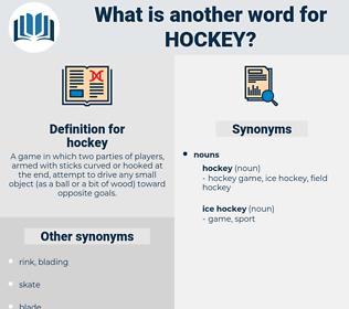 b41200e0e Synonyms for HOCKEY - Thesaurus.net