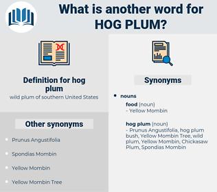 hog plum, synonym hog plum, another word for hog plum, words like hog plum, thesaurus hog plum