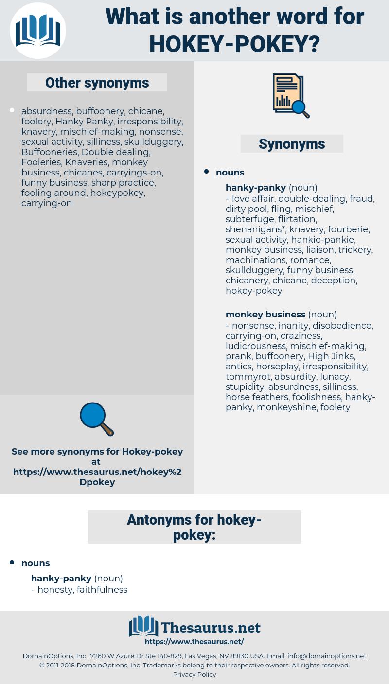 hokey-pokey, synonym hokey-pokey, another word for hokey-pokey, words like hokey-pokey, thesaurus hokey-pokey